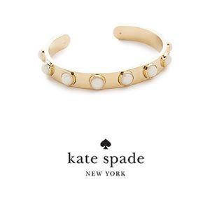 Kate Spade stag Along Cuff Bracelet